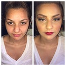 Makeup is Art! Before and After
