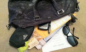 Snooping Inside A Fashion Editor's NYFW Handbag