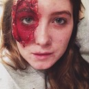Staple Face SFX makeup (Part 2)
