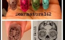 HALLOWEEN | Sugar Skull Nail Transfer
