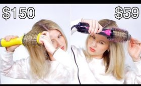 EXPENSIVE $150 vs CHEAP $59 One-Step Hair Dryer & Styler