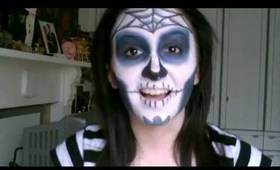 Sugar Skull Halloween Tutorial