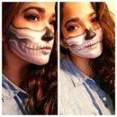 Half skull inspiration