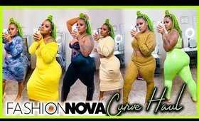 Fashion Nova Curve Haul 2019 | Plus Size Curvy Girl Fall Outfits