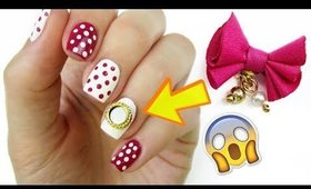 DETACHABLE Nail Bows?!