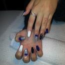 fluffy nails