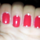 Simple Chrismas Nails