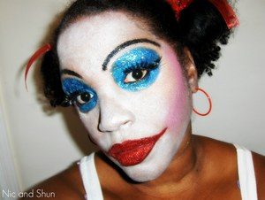 Glitter Clown