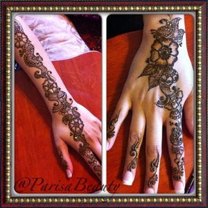 Simple Henna for the sister of the groom.