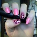 Bubblegum Zebras
