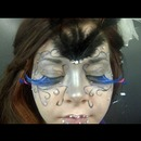 Masquerade theme makeup