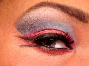 A look inspired by twilight