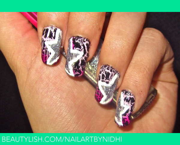 Rockstar Chick Nail Art To Watch Video Tutorial For This Look