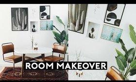 DIY SMALL ROOM MAKEOVER 2019 | Nastazsa