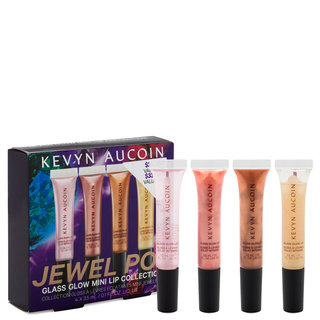 Kevyn Aucoin Jewel Pop Glass Glow Mini Lip Collection