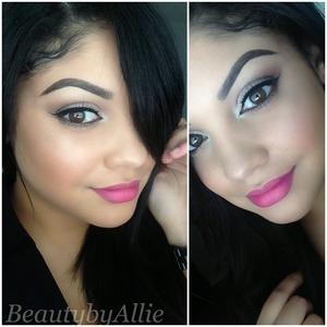 Instagram: Beautybyallie  Super easy look