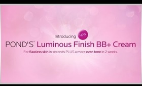 POND'S Luminous Finish BB+ Review-- Get Ready with Me!