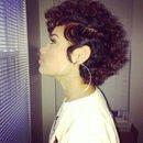 Curly pixie cut🙌