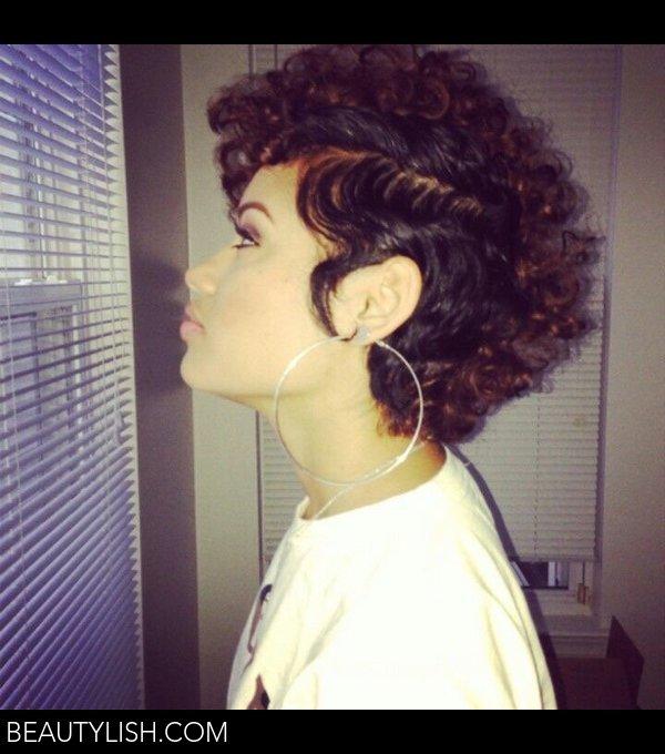 Curly Pixie Cut Treasure Es Photo Beautylish