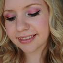 Colorful Summer Sunset Eye Makeup