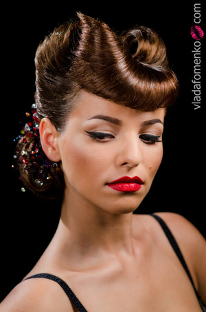 makeup by me hair: Elena Glazkova photo: Georgiy Borisenko