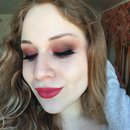Soft Raspberry Smokey Eye Makeup Tutorial