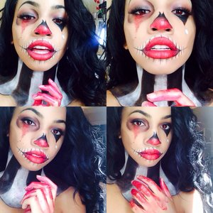 decided to re create Desi Perkins on youtubes Halloween look 🎃👹👻
