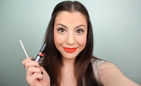 Fall Trend: Orange Lips Makeup Tutorial !