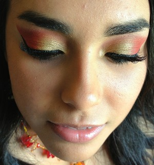 This is my beautiful friend I did her makeup before we went out on the town :)
