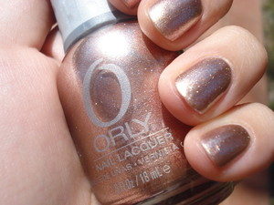 Orly - Rage. I think that this is my favorite nail polish right now! The colour is so amazing and it works for every season.