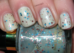 Orly Au Champagne and Revlon Whimsical