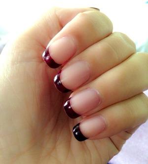 Acrylic over my natural nails 😉