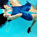 Cailyn looking gorgeous underwater makeup by me