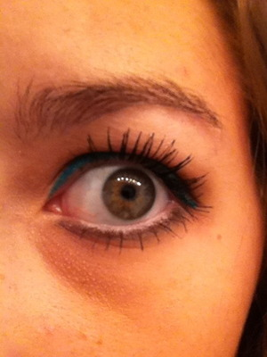Eyes wide open! I love the UD Naked palette!!