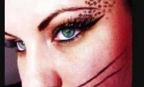 Sexy Cat Halloween Makeup Look