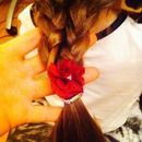 Double braid on little sister