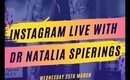 Skincare Instagram Live with Dr Natalia Spierings