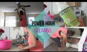Clean With Me During The Week | Power Hour Cleaning | SAHM