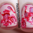 Ripped Flesh Special Effect Halloween Nail Art