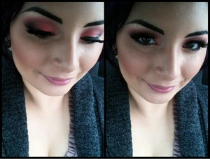 Makeup for today (: