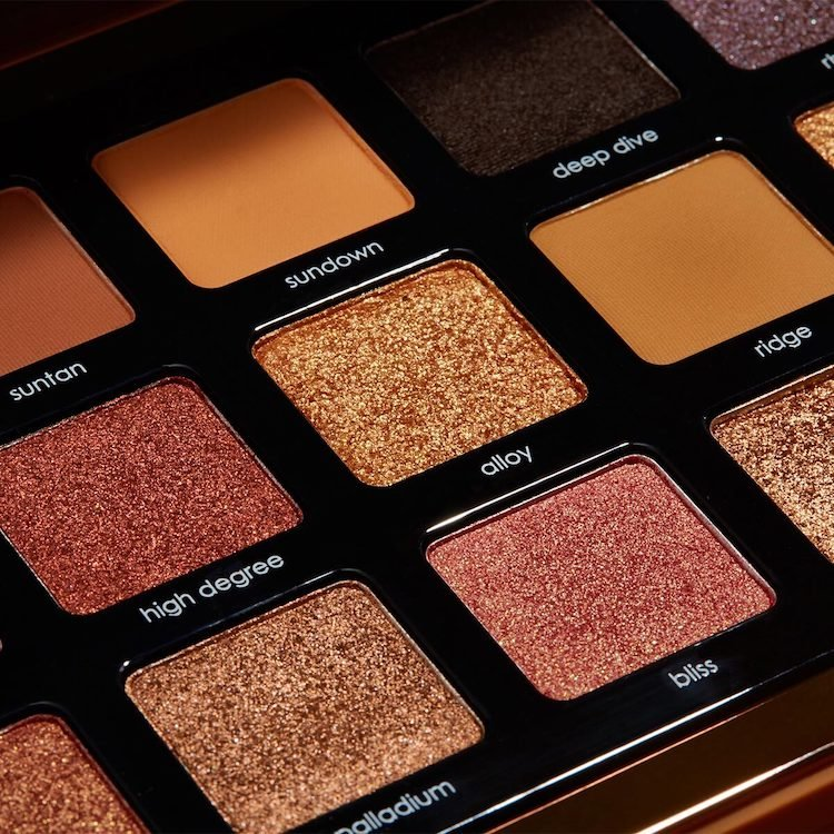 Alternate product image for Bronze Palette shown with the description.