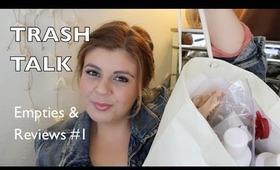 """Trash Talk"" Empties & Reviews #1 | browslasheslips // maricelinwonder.com"
