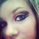 double wing eyeliner