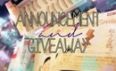 Announcement & Giveaway ♡ Style Haul ! (OPEN)