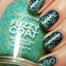 SH Fuzz Sea over OPI Incognito in Sausalito