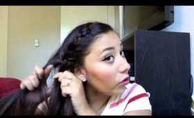 Summer Hairstyle: Messy Side Braid Tutorial