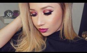 Burgundy Makeup Tutorial | TheBeautyVault