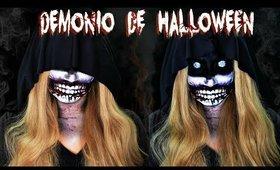 Maquillaje tutorial de DEMONIO DE HALLOWEEN   auroramakeup