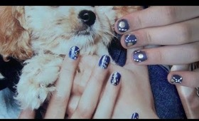 Jean Inspired Nails