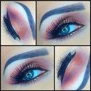 Summer colours eye